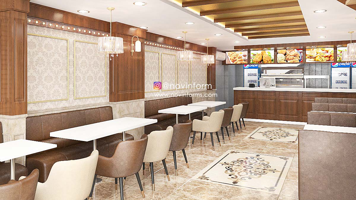 BLUE STAR RESTAURANT DESIGN